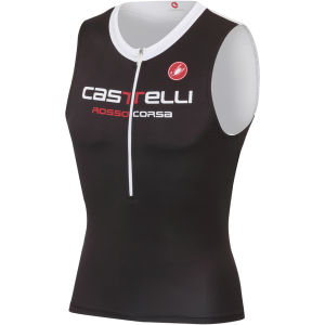 Castelli Body Paint 2 Tri Top - White