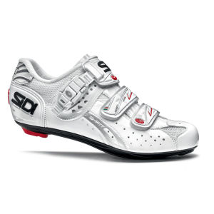 Sidi Genius 5 Fit Carbon Womens Cycling Shoes - White 2014