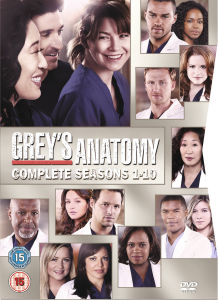 Greys Anatomy - Season 1-10