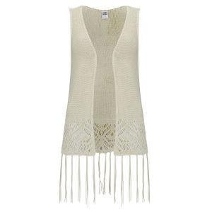 Vero Moda Women's Hazel Waistcoat - Cream
