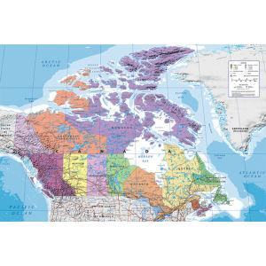 Canada Map - Maxi Poster - 61 x 91.5cm