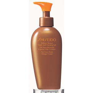 Gel autobronceador Shiseido Brilliant Bronze Quick SelfTanning Gel (150ml)