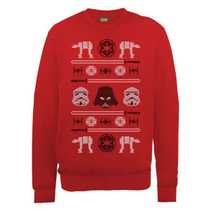 Star Wars Christmas Imperial Sweatshirt - Red