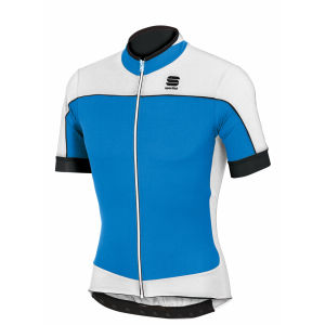Sportful Giau Short Sleeve Jersey - Blue/White/Black