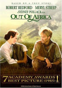 OUT OF AFRICA (WIDE SCREEN) (DVD)