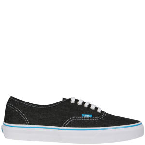 Vans Authentic Canvas Trainers - Black/True White