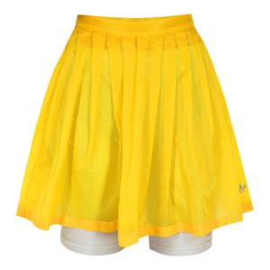 adidas Originals x Opening Ceremony Women's Sheer Flare Skirt - Sun Yellow