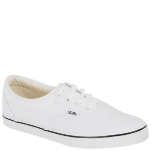 Vans LPE Canvas Trainers - True White