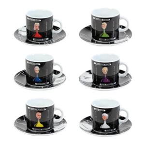 Cluedo Espresso Mug Set
