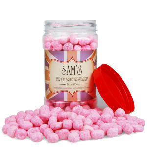 Traditional Sweet Jar - Strawberry Bon Bons