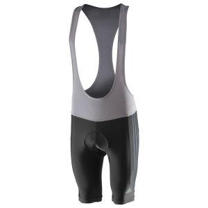 Adidas Response Bib Shorts - Black/Dark Onyx