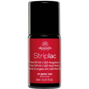 Striplac Berry Red UV Nail Polish (8ml)