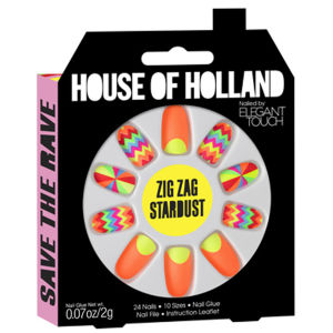 Henry Holland Nailed by Elegant Touch - Zig Zag Stardust
