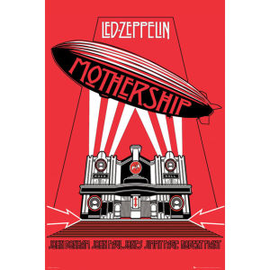 Led Zeppelin Mothership - Maxi Poster - 61 x 91.5cm