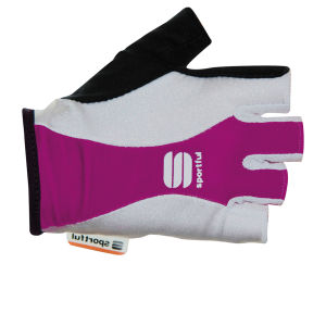 Sportful Pro Women's Gloves - Purple/White