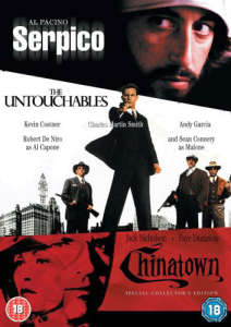 Serpico/The Untouchables/Chinatown
