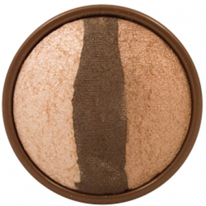 Stila Baked Eye Shadow Trios- Bronze Glow Bronze Glow