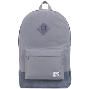 Herschel Heritage Suede Backpack - Grey