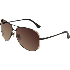 Michael Kors Sicily Aviator Sunglasses - Black