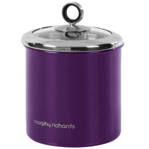Morphy Richards Accents Large Storage Canister - Plum