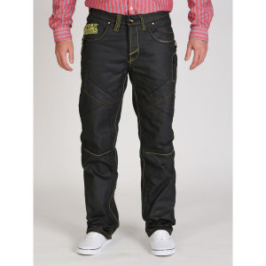 Seven Series Men's Sprint Contrast Stitching Jeans - Dark Wash