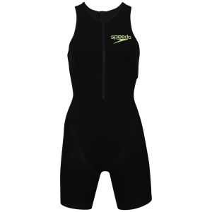 Speedo Women's Triathlon Pro Suit - Black/White/Green