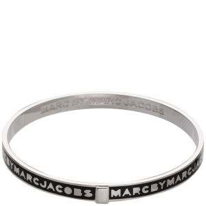 Marc by Marc Jacobs Skinny Logo Bangle - Black