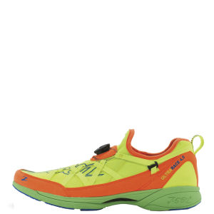 Zoot Men's Race 4.0 Neutral Race Shoe - Safety Yellow/Blaze/Green Flash