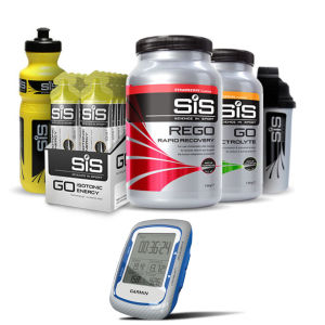 Garmin Edge 500 GPS Cycle Computer with SIS Nutrition Banana