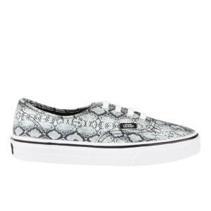 Vans Women's Authentic Snake Trainers - Black