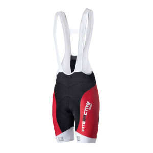 Santini Interactive Aero Mig Pad Bib Short - Red