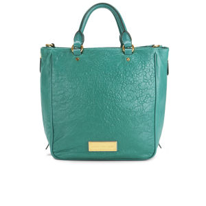 Marc by Marc Jacobs Washed Up Leather Tote Bag - Island Green