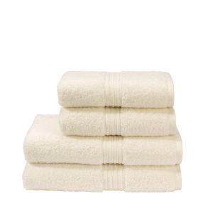 Christy Plush Towel - Cream