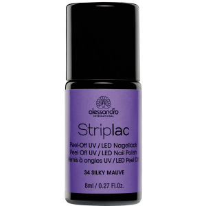 Striplac Silky Mauve UV Nail Polish (8ml)