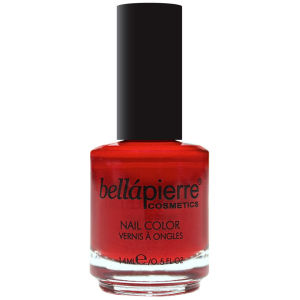 Bellapierre Cosmetics Nail Polish Single Fire Red
