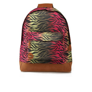 Mi-Pac Custom Print Hot Zebra Backpack - Rainbow