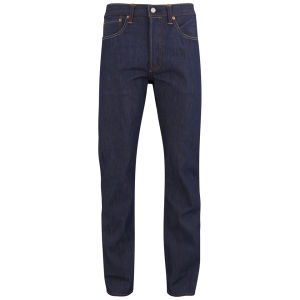 Levi's Selvedge Men's 501 Original Tapered Fit Centennial Cone Denim Jeans - Blue