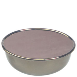 E-Shave Rasierseife mit Nickel-Schüssel Lavendel