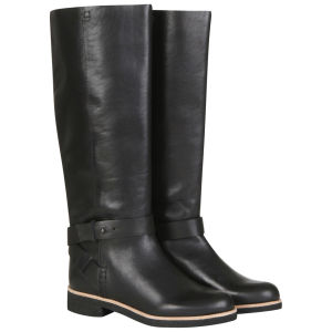 See by Chloe Women's Leather Knee High Boots - Black