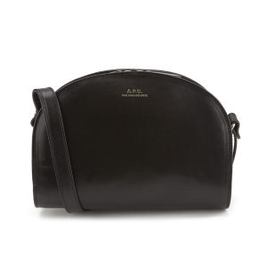 A.P.C. Women's Demi-Lune Cross Body Bag - Noir