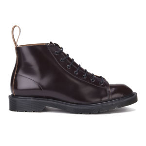 Dr. Martens Men's 'Made in England' Core Les Lace To Toe Leather Boots - Merlot Boanil Brush