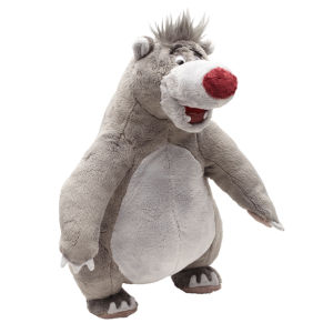 Jungle Book - 12 inch Scratching 'N' Singing Baloo Interactive Plush