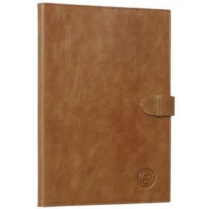 dbramante1928 Classic Leren Folio Beschermhoes voor de Samsung Galaxy Tab 2 10.1 - Goudbruin