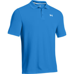 Under Armour Men's Performance Polo Shirt 2.0 - Blue/White
