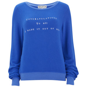 Wildfox Women's Baggy Beach Jumper - Night Owl