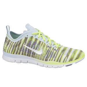 Nike Women's Free 5.0 Trainers - Anthracite/Volt Green