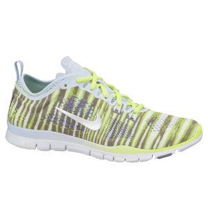 Nike Damen Free 5.0 Trainingsschuhe - anthrazit/leuchtgrün