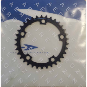 Aerozine Road Chain Ring - Black