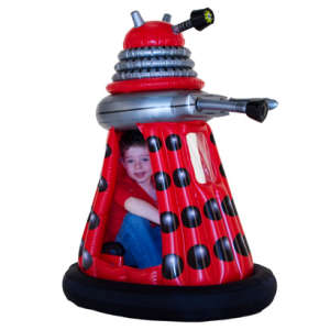 Doctor Who: Ride In Dalek (Red)
