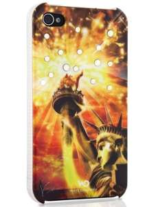 White Diamonds: Liberty Gold iPhone 4 Case